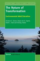 Cover image for The Nature of Transformation Environmental Adult Education