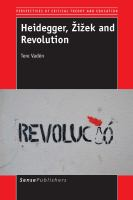 Cover image for Heidegger, Žižek and Revolution