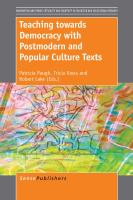 Cover image for Teaching towards Democracy with Postmodern and Popular Culture Texts