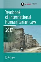Cover image for Yearbook of International Humanitarian Law, Volume 20, 2017