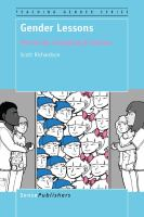 Cover image for Gender Lessons Patriarchy, Sextyping & Schools