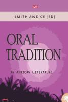 Cover image for Oral tradition in African literature