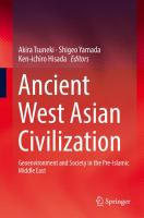 Cover image for Ancient West Asian Civilization Geoenvironment and Society in the Pre-Islamic Middle East