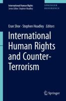 Cover image for International Human Rights and Counter-Terrorism
