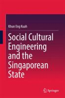 Cover image for Social Cultural Engineering and the Singaporean State