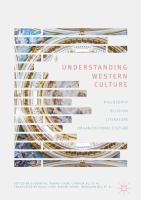 Cover image for Understanding Western Culture Philosophy, Religion, Literature and Organizational Culture