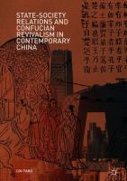 Cover image for State-Society Relations and Confucian Revivalism in Contemporary China