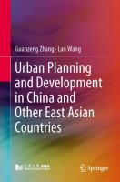 Cover image for Urban Planning and Development in China and Other East Asian Countries