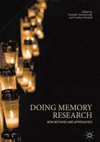 Cover image for Doing Memory Research New Methods and Approaches