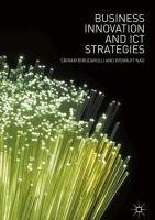 Cover image for Business Innovation and ICT Strategies