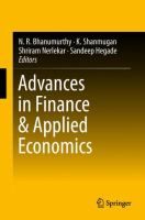 Cover image for Advances in Finance & Applied Economics
