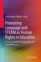 Cover image for Promoting Language and STEAM as Human Rights in Education Science, Technology, Engineering, Arts and Mathematics