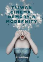 Cover image for Taiwan Cinema, Memory, and Modernity