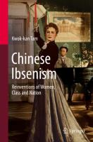 Cover image for Chinese Ibsenism Reinventions of Women, Class and Nation
