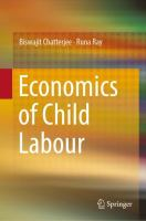 Cover image for Economics of Child Labour