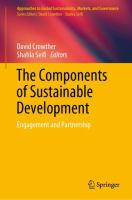 Cover image for The Components of Sustainable Development Engagement and Partnership