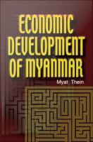 Cover image for Economic Development of Myanmar