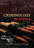 Cover image for Criminology in Africa