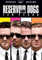 Cover image for Reservoir dogs ten years