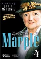 Cover image for Agatha Christie Marple. Series 4