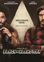 Cover image for Blackkklansman