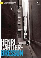 Cover image for Henri Cartier-Bresson the impassioned eye