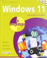 Cover image for Windows 11 in Easy Steps
