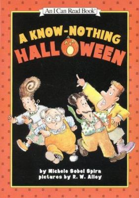 Cover image for A know-nothing Halloween