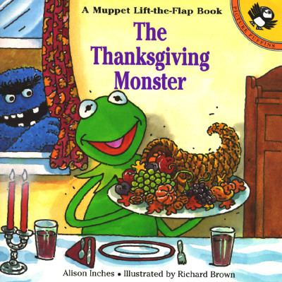 Cover image for The Thanksgiving monster