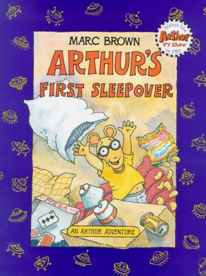 Cover image for Arthur's first sleepover