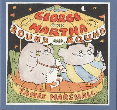 Cover image for George and Martha 'round and 'round