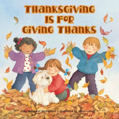 Cover image for Thanksgiving is for giving thanks