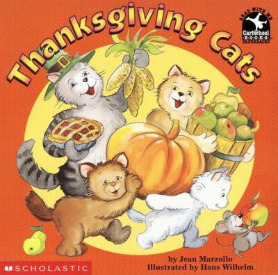 Cover image for Thanksgiving cats