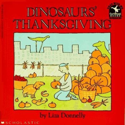 Cover image for Dinosaurs' thanksgiving