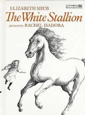 Cover image for The white stallion