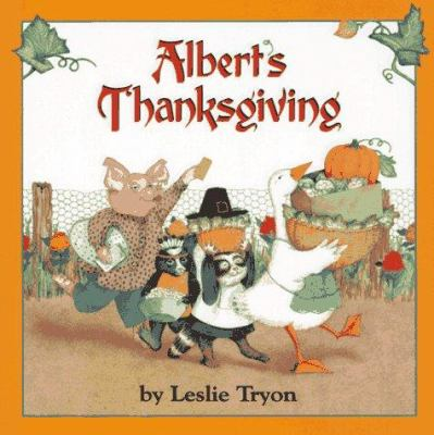 Cover image for Albert's Thanksgiving