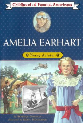 Cover image for Amelia Earhart : young aviator