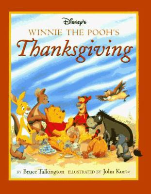 Cover image for Disney's Winnie the Pooh's Thanksgiving