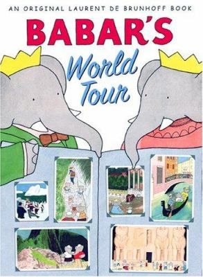 Cover image for Babar's world tour