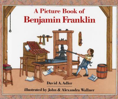 Cover image for A picture book of Benjamin Franklin
