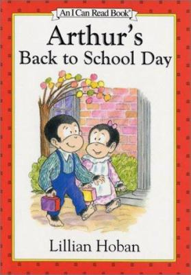 Cover image for Arthur's back to school day
