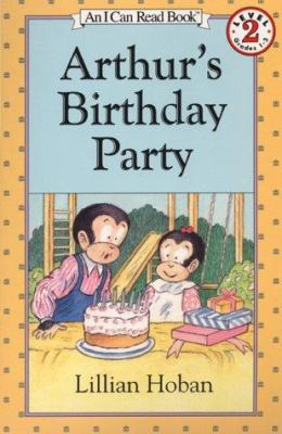 Cover image for Arthur's birthday party