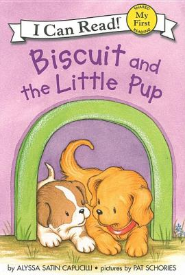 Cover image for Biscuit and the little pup