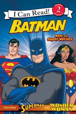 Cover image for Batman. Meet the super heroes