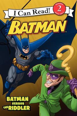 Cover image for Batman versus the Riddler