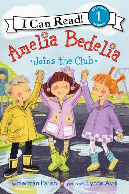 Cover image for Amelia Bedelia joins the club
