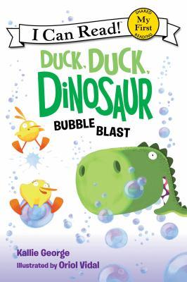 Cover image for Duck, duck, dinosaur : bubble blast