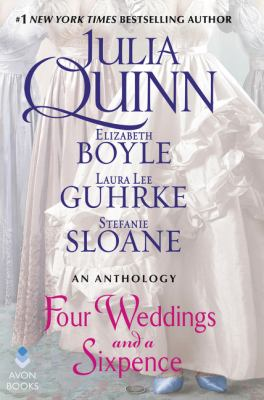 Cover image for Four weddings and a sixpence : an anthology
