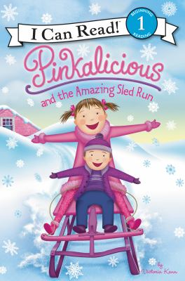 Cover image for Pinkalicious and the amazing sled run