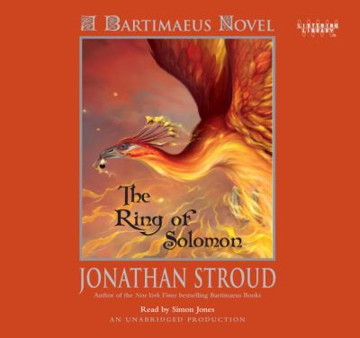 Cover image for The ring of Solomon : [a Bartimaeus novel]